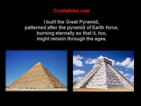 mayan pyramids and egyptian pyramids
